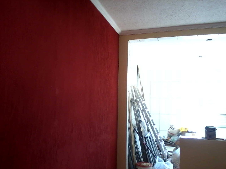 Trabalho Grafiato Teto E Parede Pintores Anjo -> Fotos De Paredes Com Grafiato