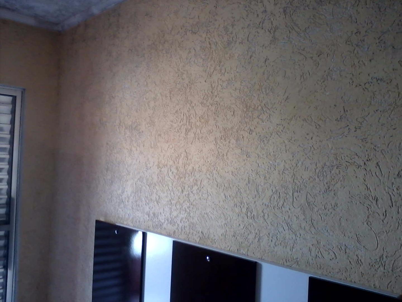 Trabalho Grafiato Teto Pintores Anjo -> Fotos De Paredes Com Grafiato